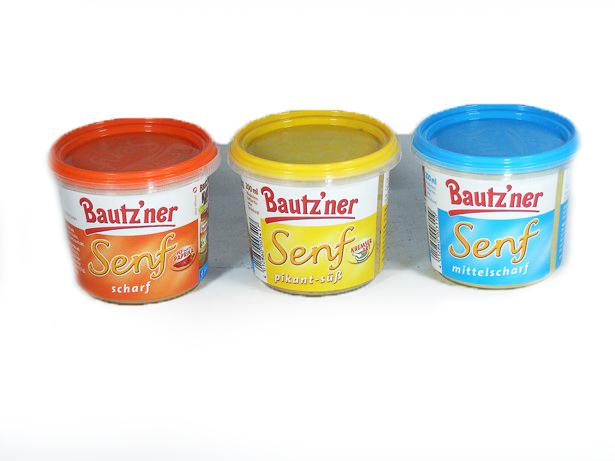 Купить ГОРЧИЦА BAUTZNER 3X200ml 3-считыватель ВКУСОВ КОМПЛЕКТ на Eurozakup - цены и фото - доставка из Польши и стран Европы в Украину.