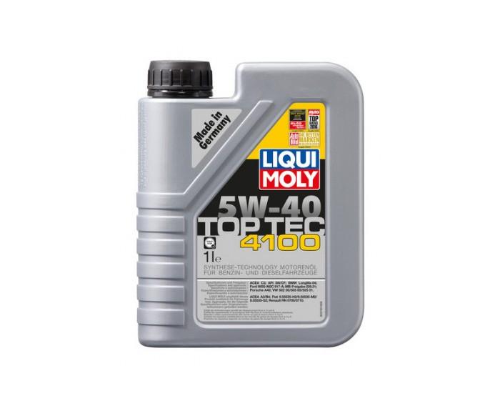 Немецкое масло Liqui Moly Top Tec 4100 5W40 1Л !