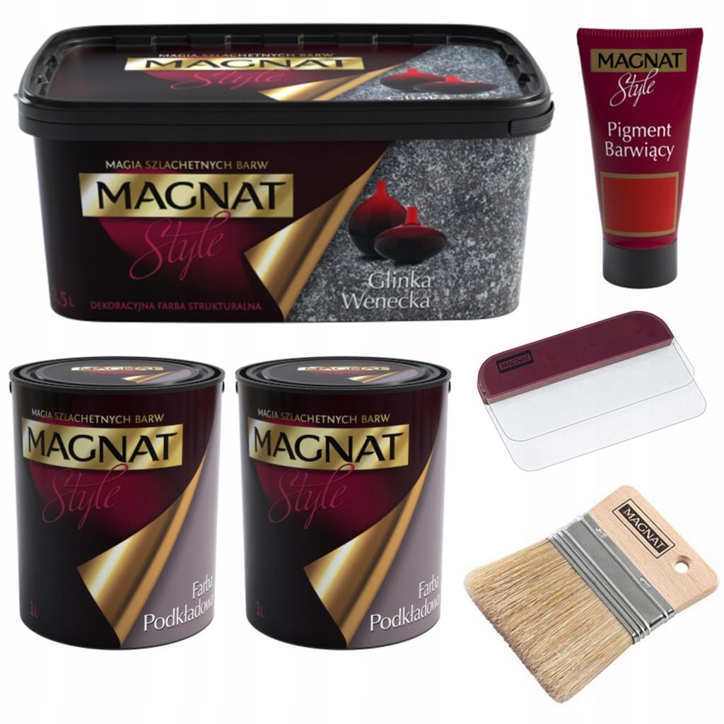 Венецианская глина MAGNAT набор на 10 кв.м.