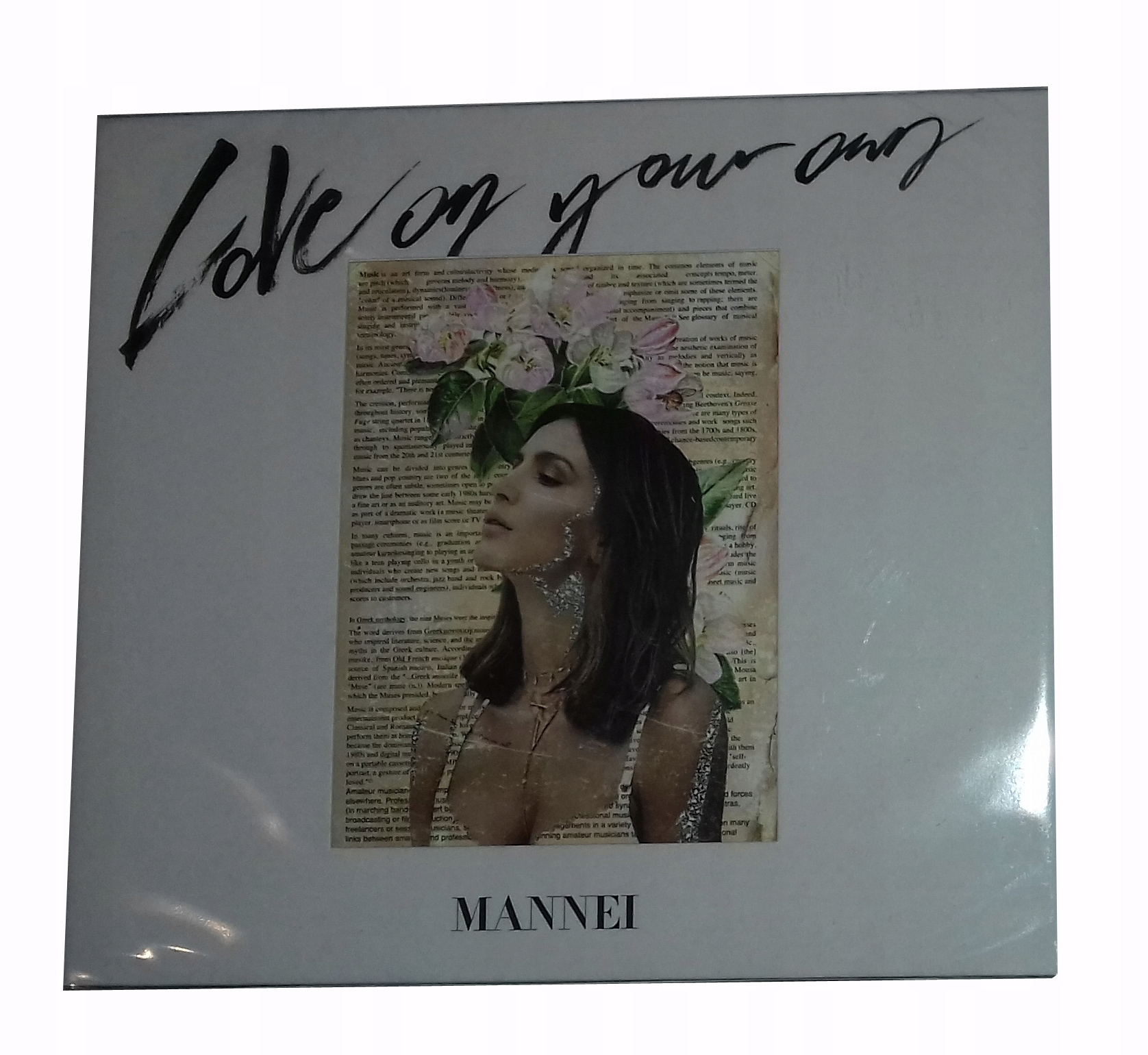 MANNEI LOVE ON YOUR OWN CD FOLIA