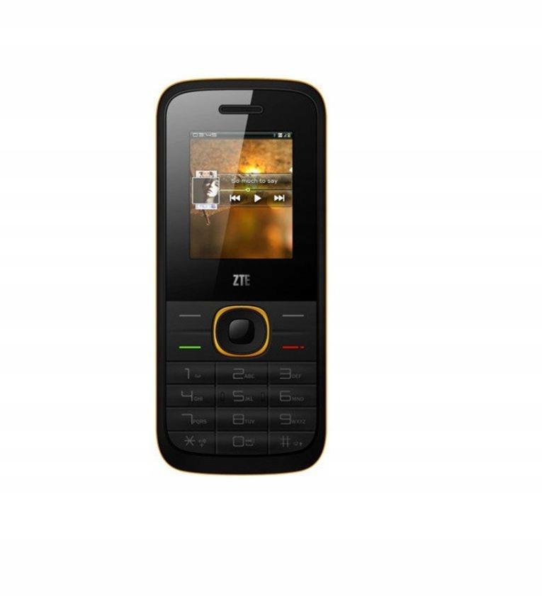 Купить Телефон для ZTE R528 DS черно-желтый на Otpravka - цены и фото - доставка из Польши и стран Европы в Украину.