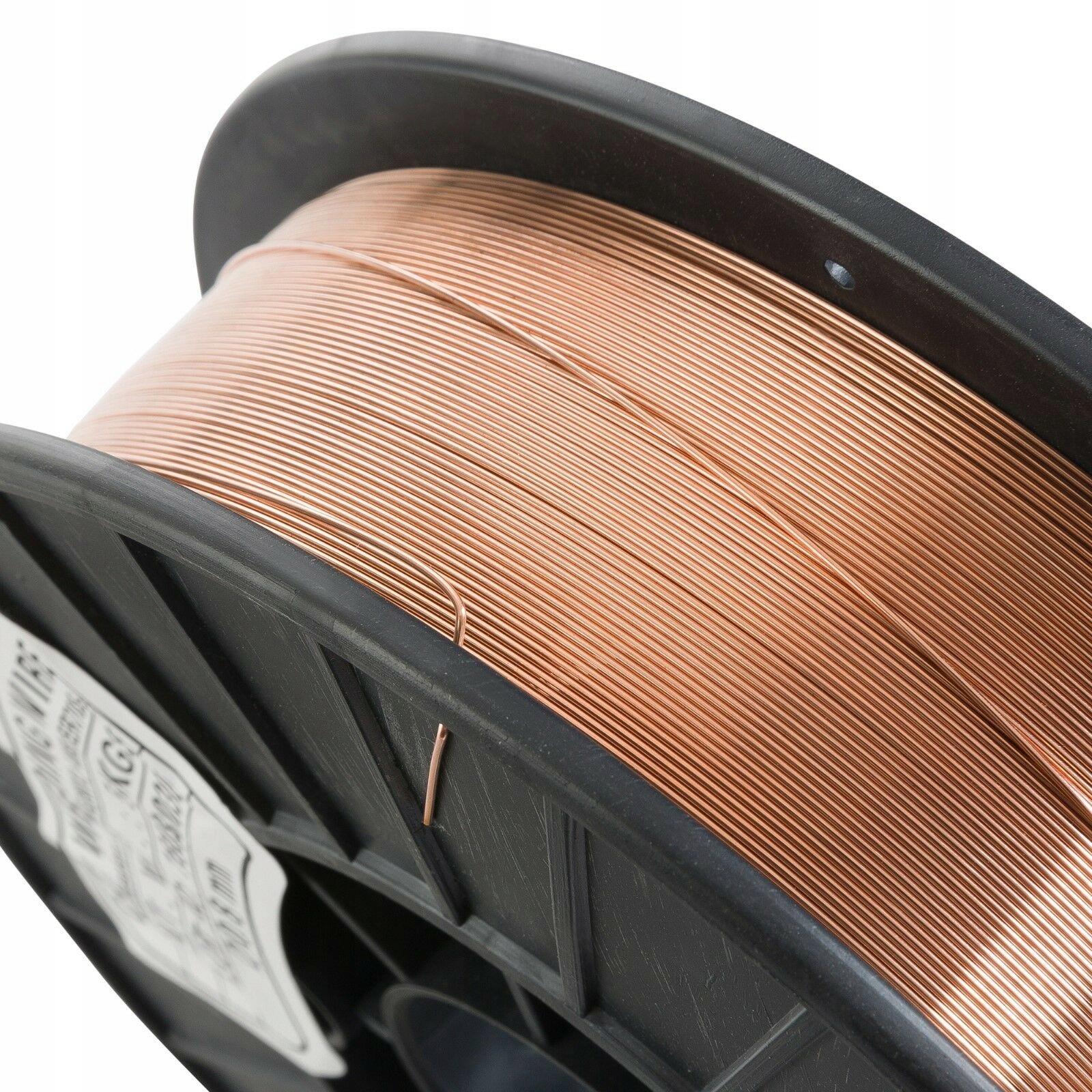 Drut spawalniczy 0 8mm 5kg SG2 Ar CO2 MIG MAG MIX