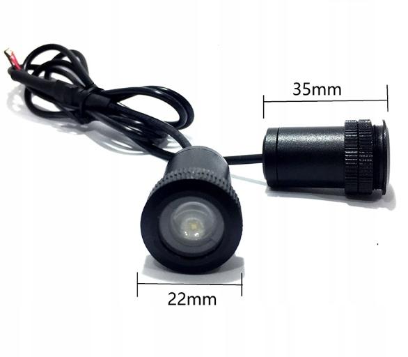 BMW! Led Logo Projektor HD Lampka WSZYSTKIE MODELE Waga (z opakowaniem) 0.2 kg
