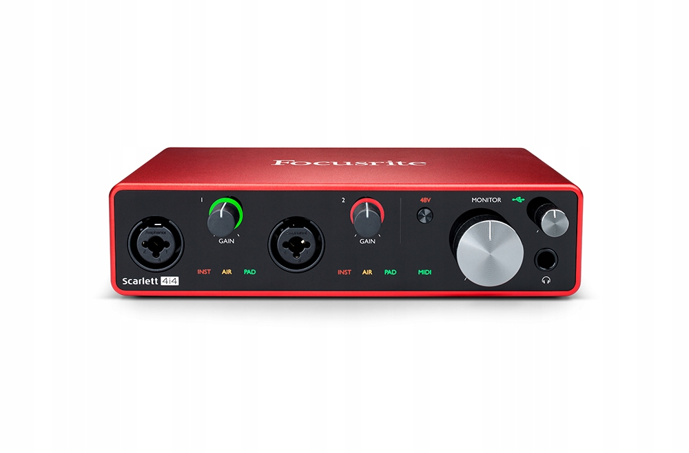 Item Focusrite Scarlett 4i4 3 USB audio interface