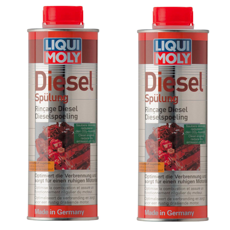 Liqui Moly Diesel Spulung 2666 очищает wtryski x 2