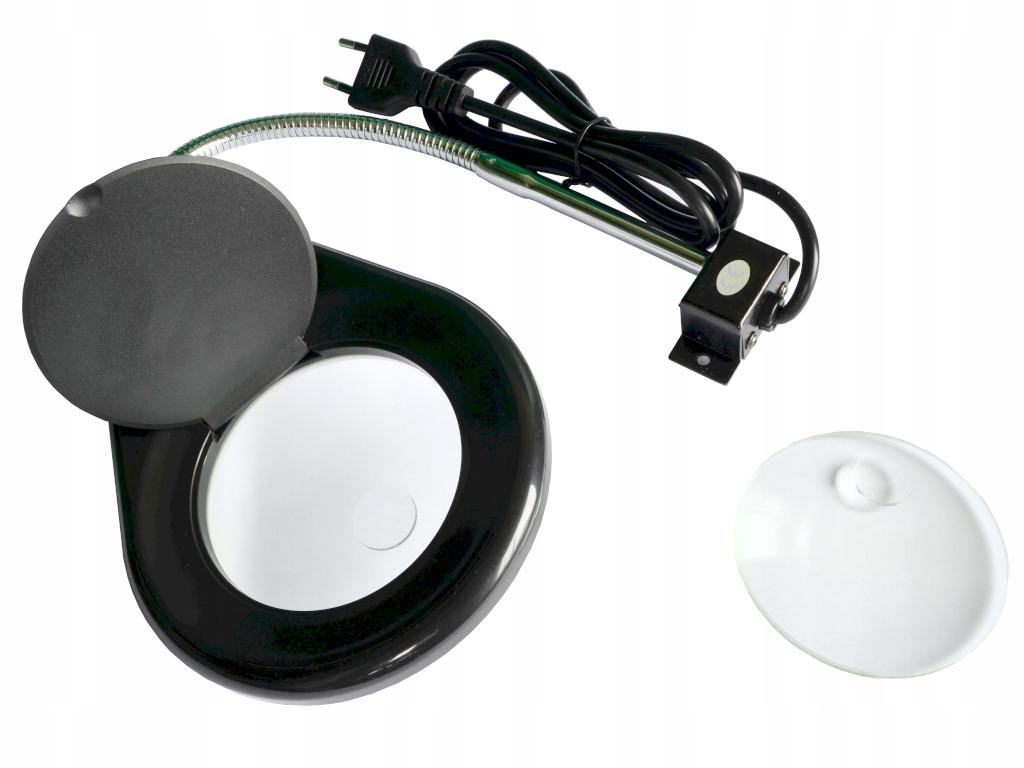 Lampa s lupou s podsvietením 40 LED x5 628A