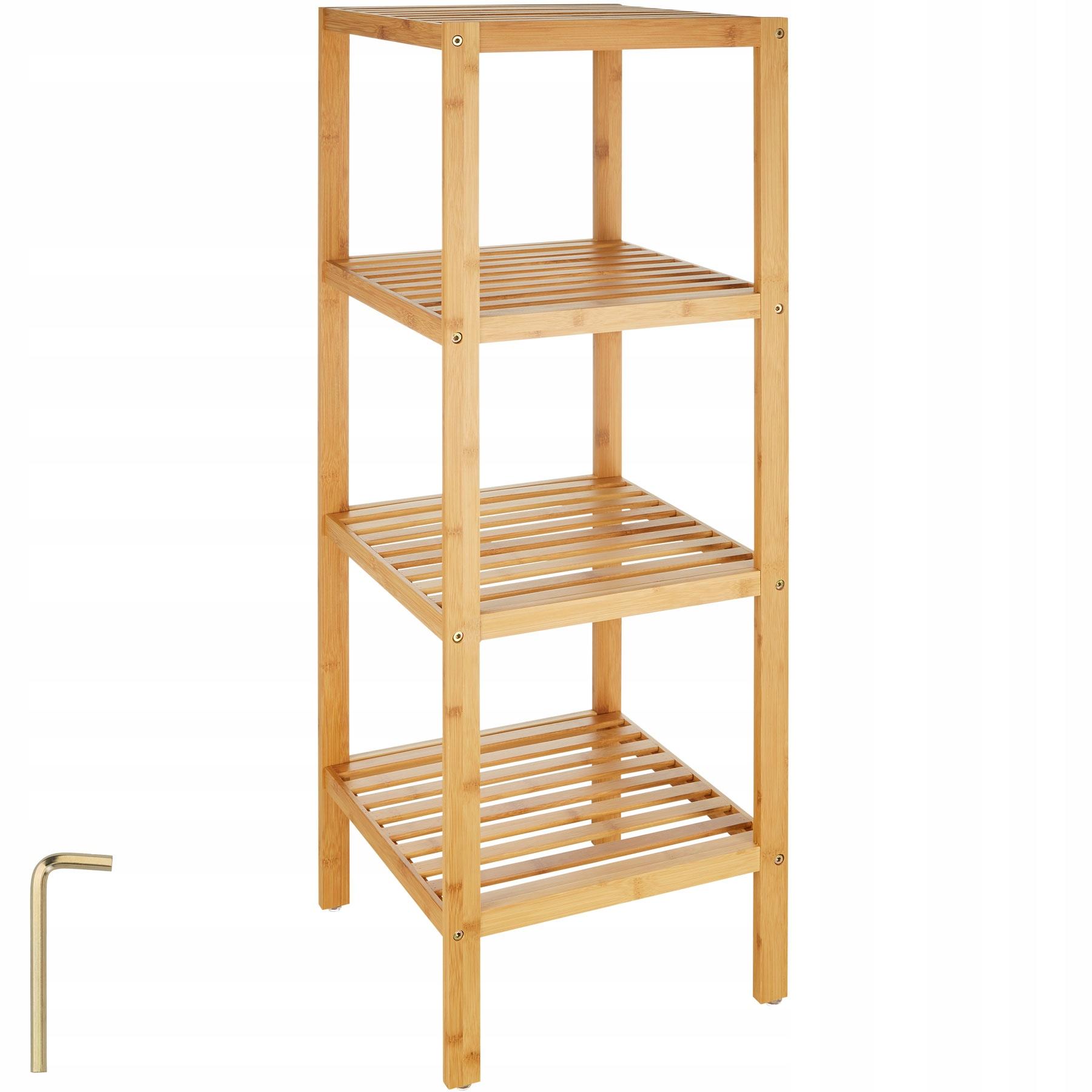 Skrinka dreva, bambusové 4 tier 401647