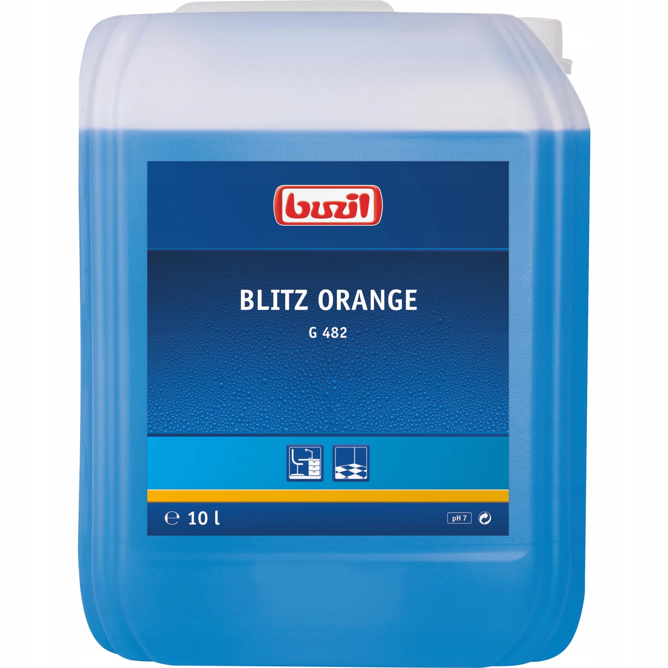 Uniwersalny myjący płyn Blitz Orange Buzil G482 10