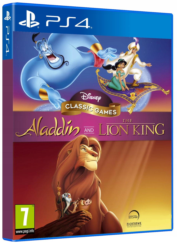 Купить ALADDIN AND THE LION KING CLASSIC GAMES PS4 на Otpravka - цены и фото - доставка из Польши и стран Европы в Украину.