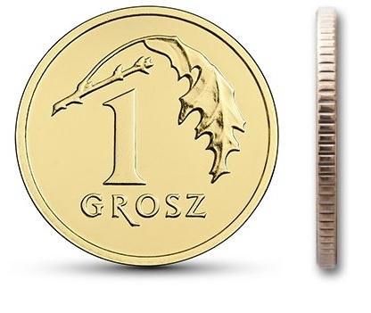 1 гр. Монета мятный пенни 2020 в мешочке