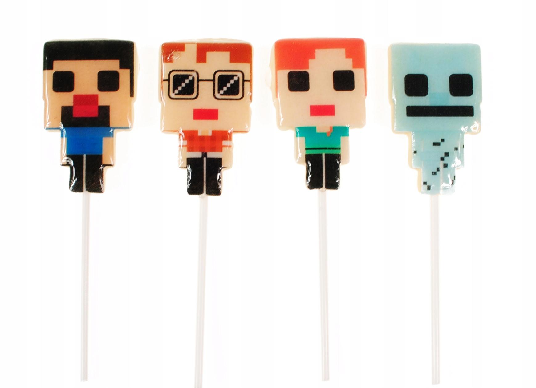 Candy Minecraft, hrdinovia 30g 30pcs