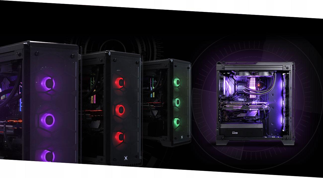 OUTLET x-kom G4M3R 600 i7 32G 250+500SSD GTX1080Ti Typ pamięci RAM DDR4