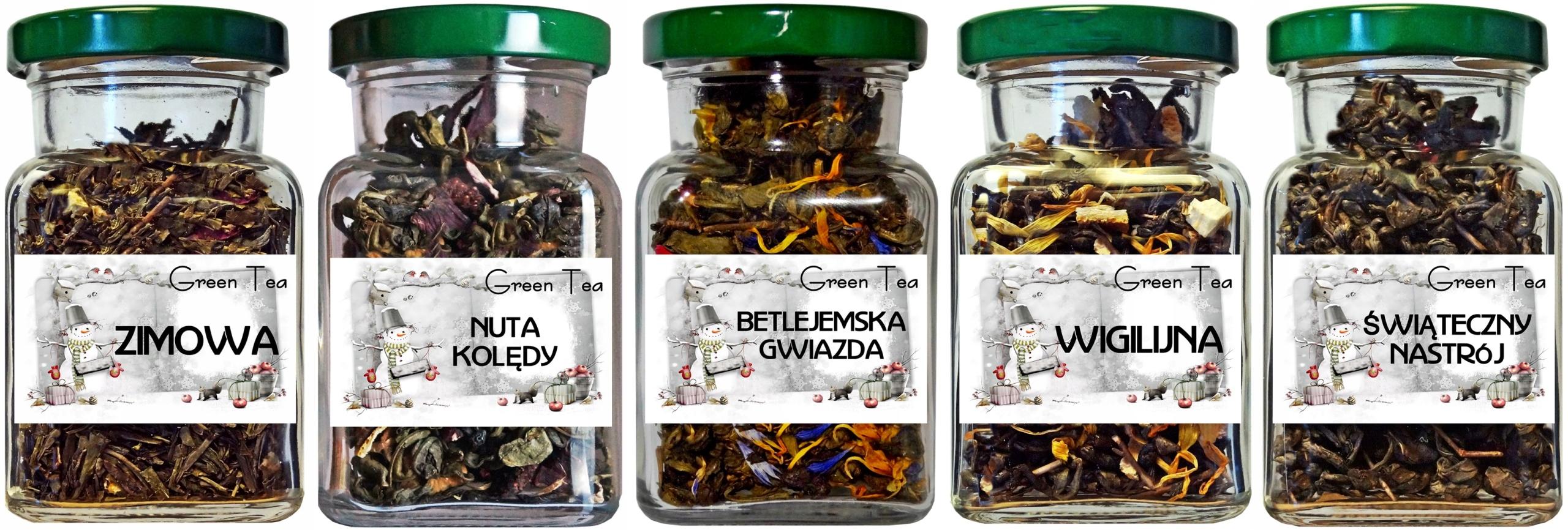 Herbata zielona ZESTAW ŚWIĄTECZNY BOŻE NARODZENIE