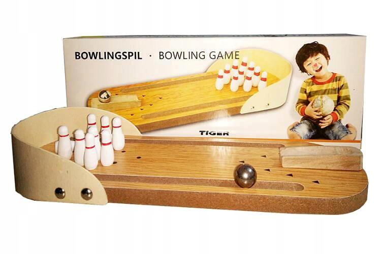 Мини боулинг игра на рабочий стол 30x10,5 см