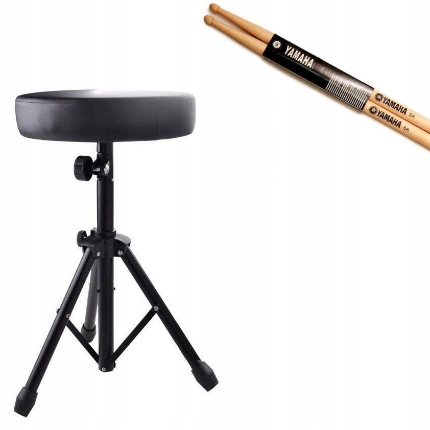 Bubnová perkusie stolice, nastavenie výšky