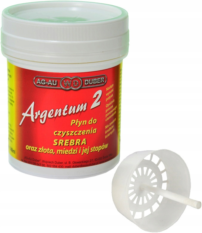 Item ARGENTUM 2 Liquid for cleaning Silver, Gold 140ml