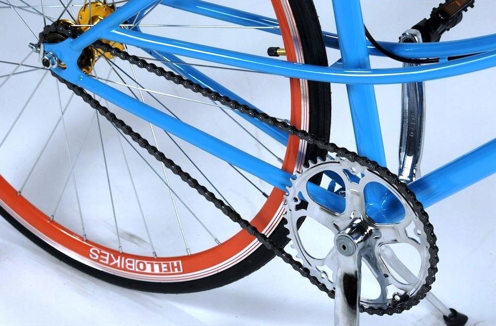 НОВЫЙ велосипед ОСТРЫЕ КОЛЕСО ЦВЕТА 28cal Hi-Этот DamkaW-а
