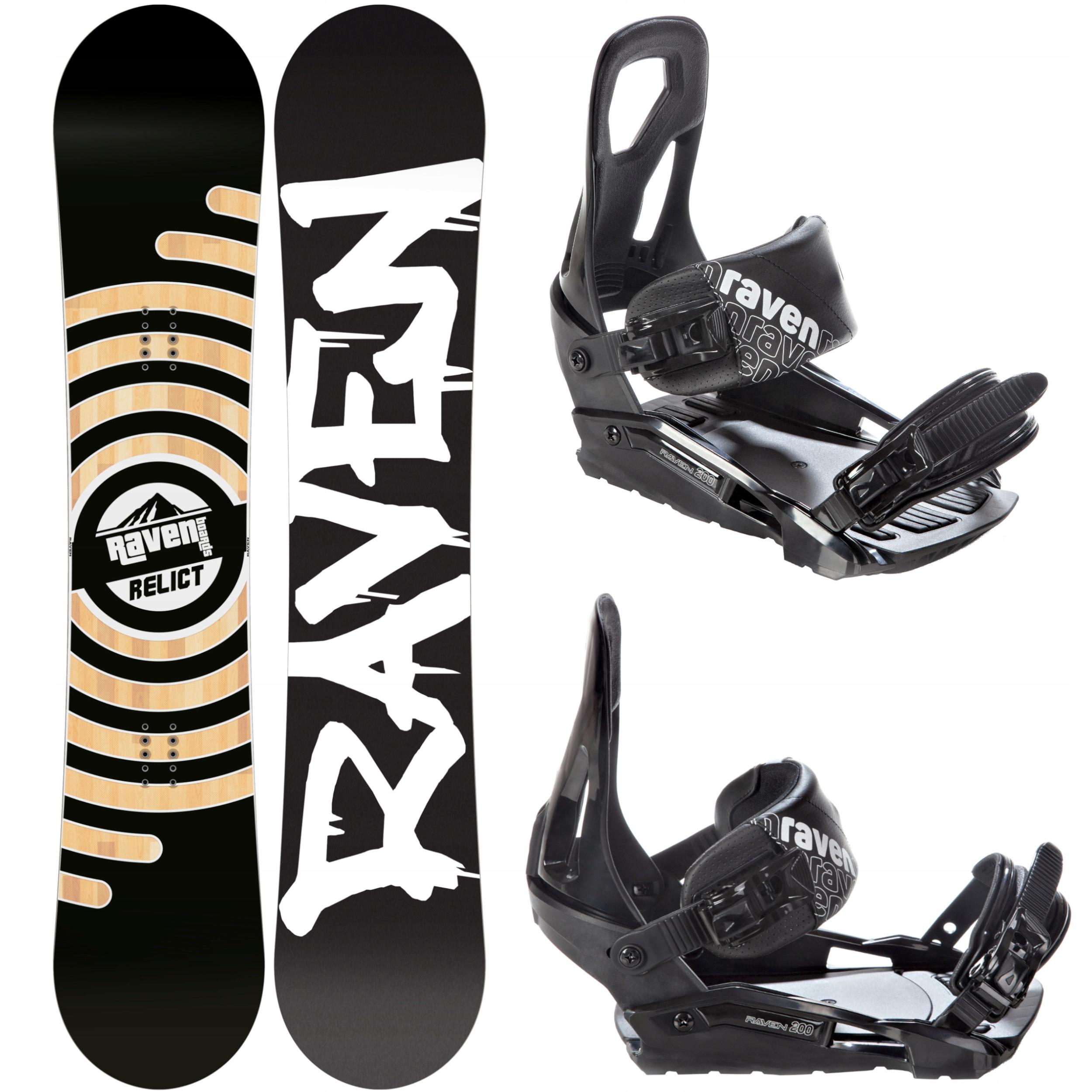 Snowboard RAVEN Reliktné 2020 152 cm + Viazanie S200