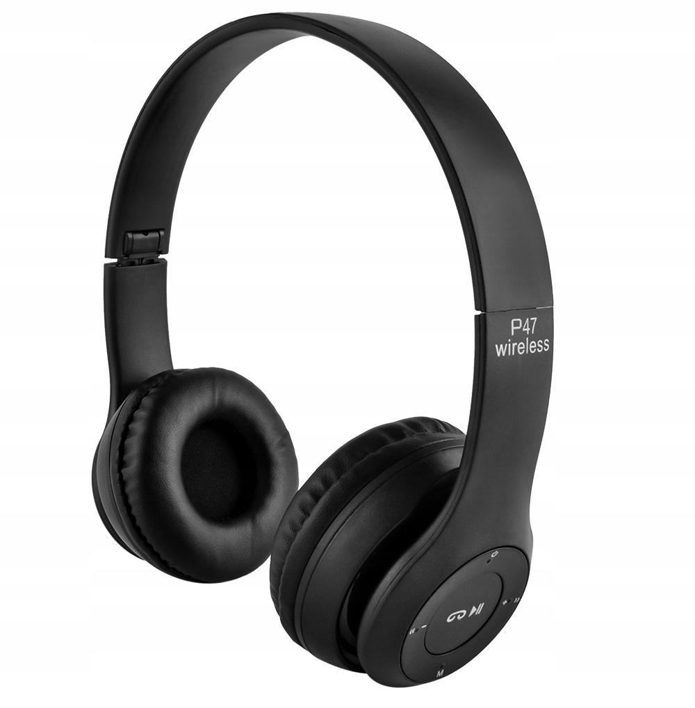 Sluchátka Bezdrátový Bluetooth mikrofon FM MP3 Hmotnost výrobku s individuálním balením 0,21 kg