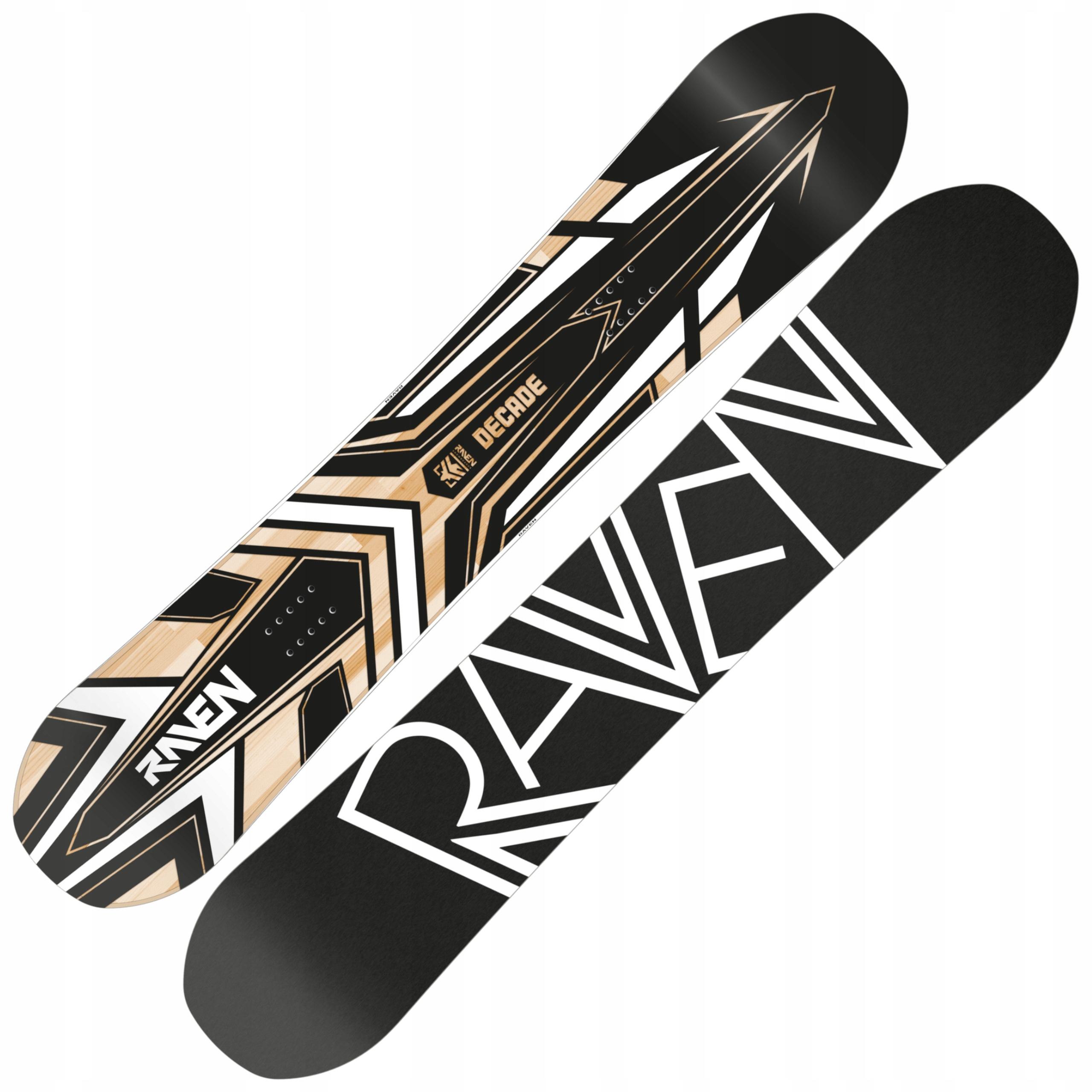 Snowboard RAVEN Desaťročí 164cm Široký 2019
