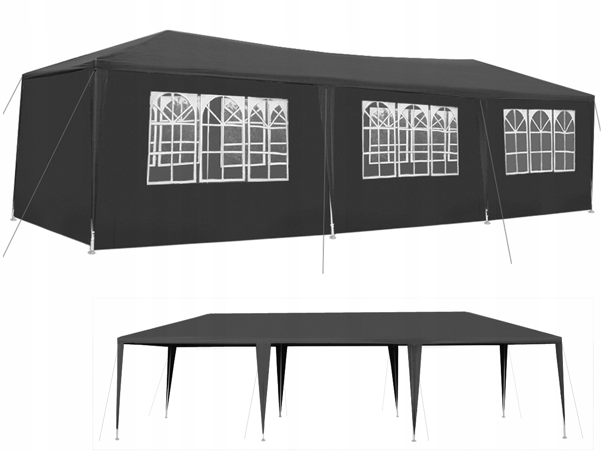 Pawilon Ogrodowy Namiot Imprezowy 3x9m 8 Ścianek