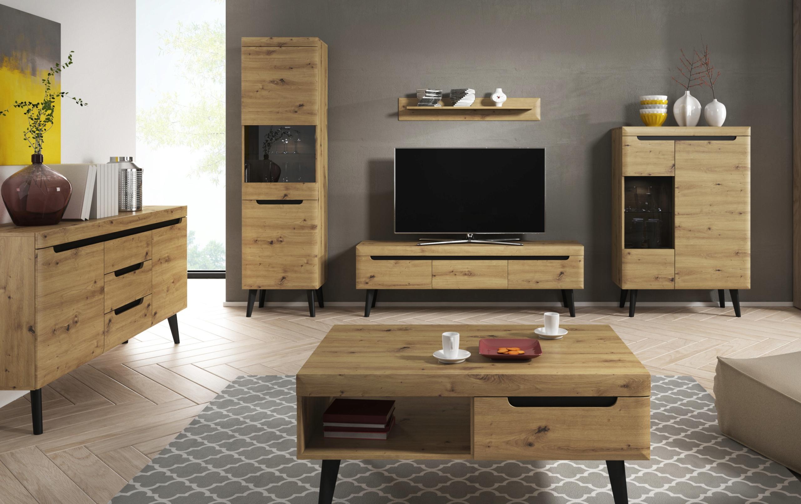 Купить набор мебели LOCO 4 Мебель для САЛОН Дуб ARTISAN на Eurozakup - цены и фото - доставка из Польши и стран Европы в Украину.