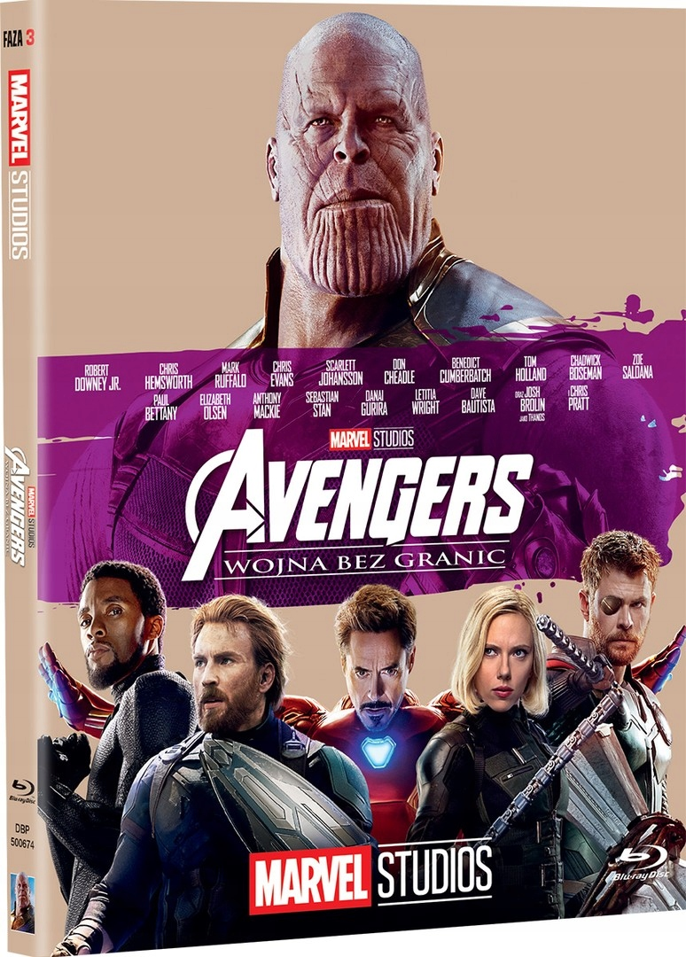 Item Avengers: War without borders [Blu-ray]