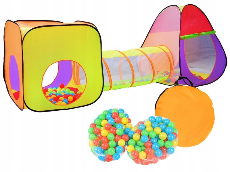 Палаточный домик Игло Туннель для детей + мячи Мячи