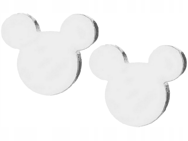 Item M41 Earrings Silver Mickey Mouse Is A Mouse, Bear