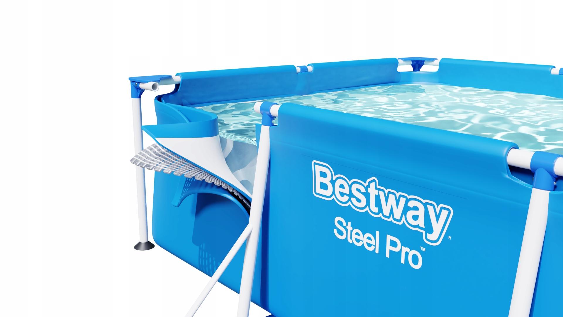 RÁMOVÝ ZÁHRADNÝ BAZÉN 400x211x81cm séria Bestway 16v1 Steel Pro