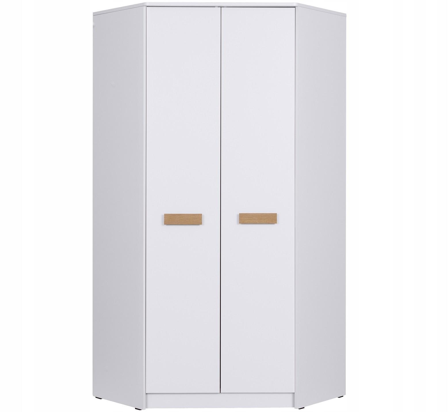 мебель ГРАНТ G8 шкаф Угловой с полками белая 2kolo