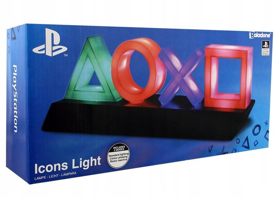 Item PLAYSTATION CONTROL ICONS LAMP LIGHT PP4140PS HIT!