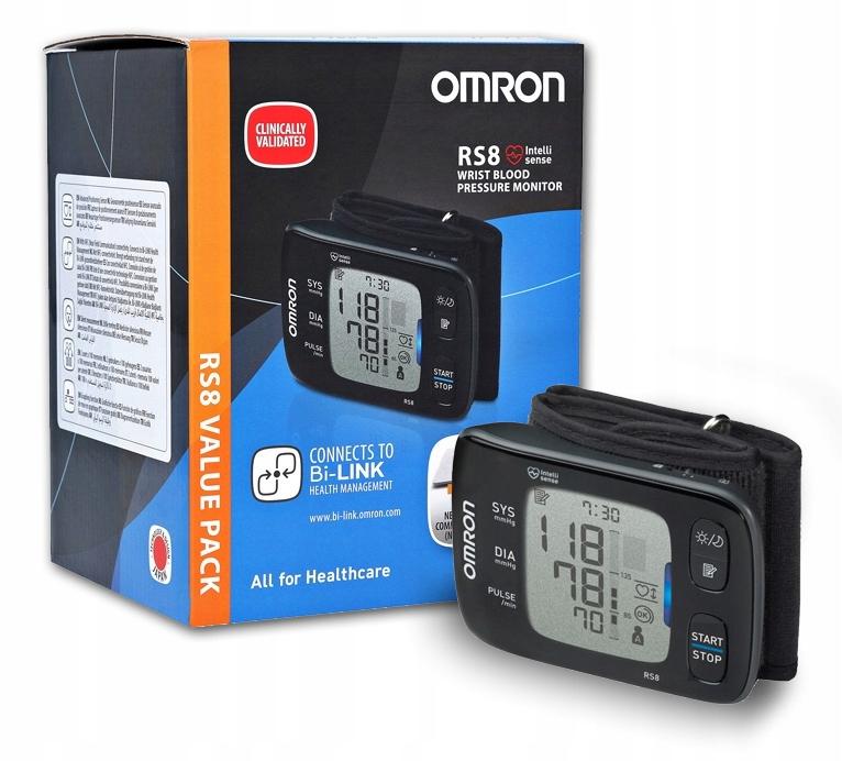 OMRON RS8 Манометр для зап'ястя ARITHY NFC