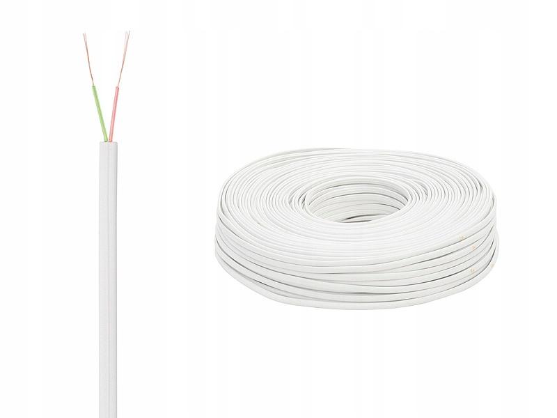 Купить Телефонный кабель КП-2 2х0,35 белый x4mb на Otpravka - цены и фото - доставка из Польши и стран Европы в Украину.
