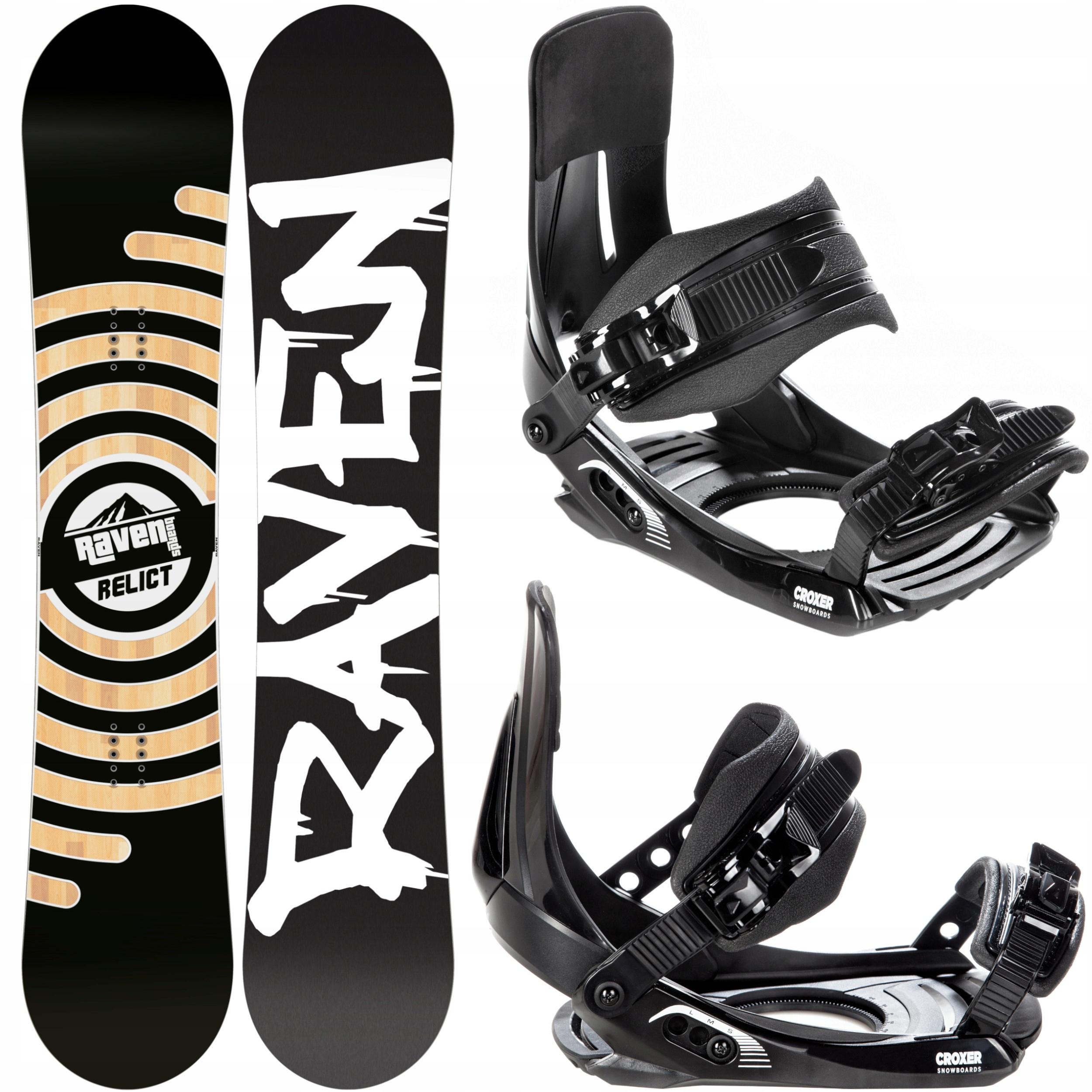 Snowboard RAVEN Reliktné 2020 152 cm +viazanie Croxer