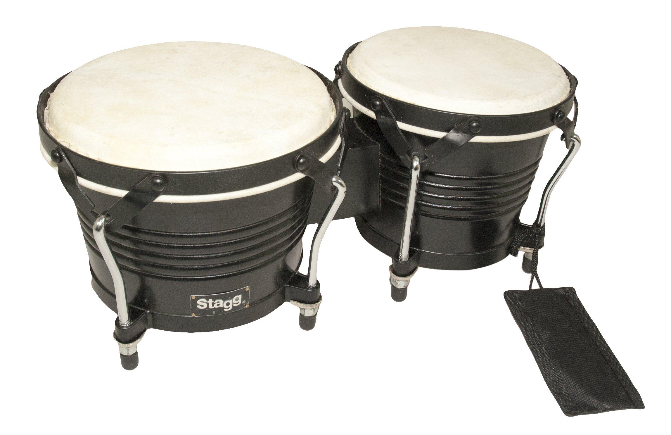 Profesionálny drevený bongos + TUNING KEY