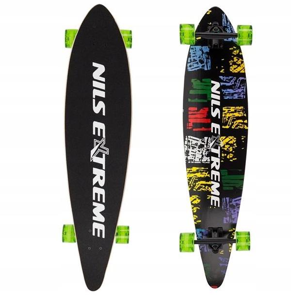 LONGBOARD Skateboard 9 VRSTVY ABEC 9 VRSTVA Board