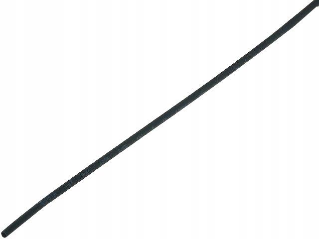 Трубка термоусадочная длина 1м диам 1.6 мм черная