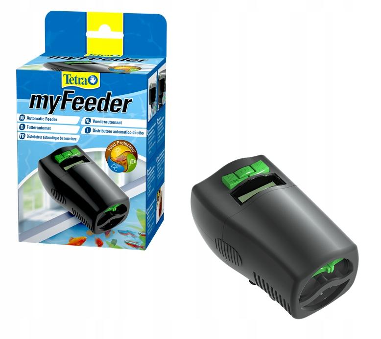 TETRA MyFeeder Black AUTOMATICKÉ RYBY FEEDER
