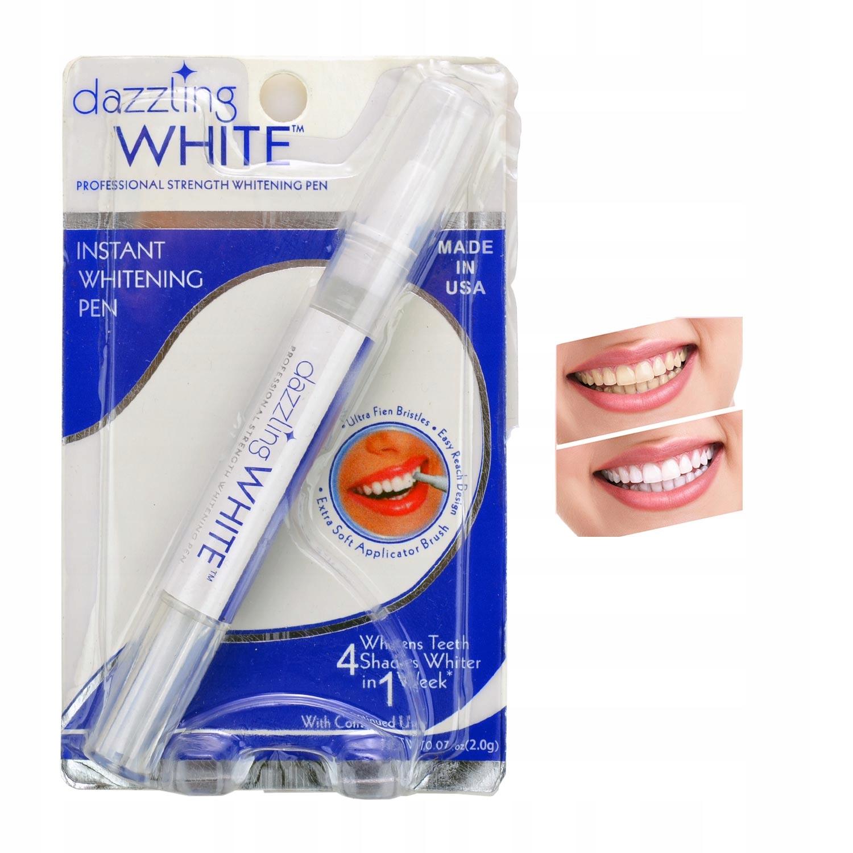 Гелевая РУЧКА, маркер для отбеливания зубов DAZZLING WHITE