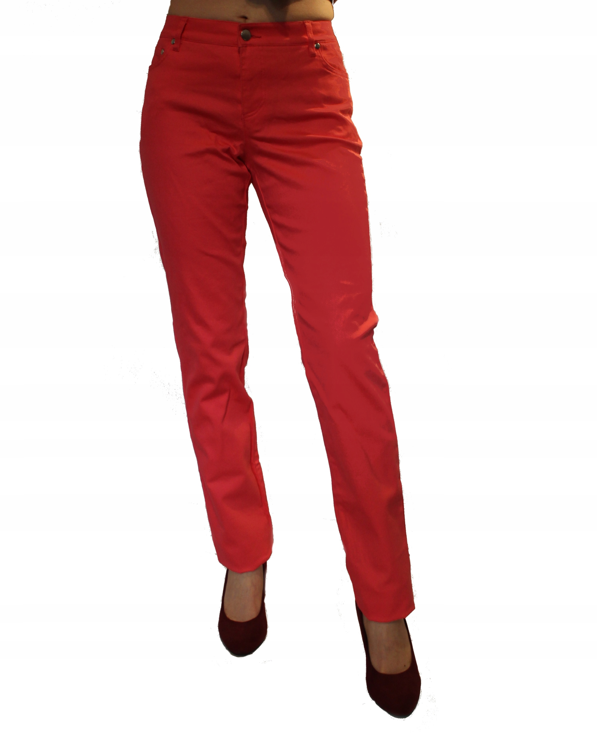 Bonprix Slim Straight klasyczne spodnie bawełna S