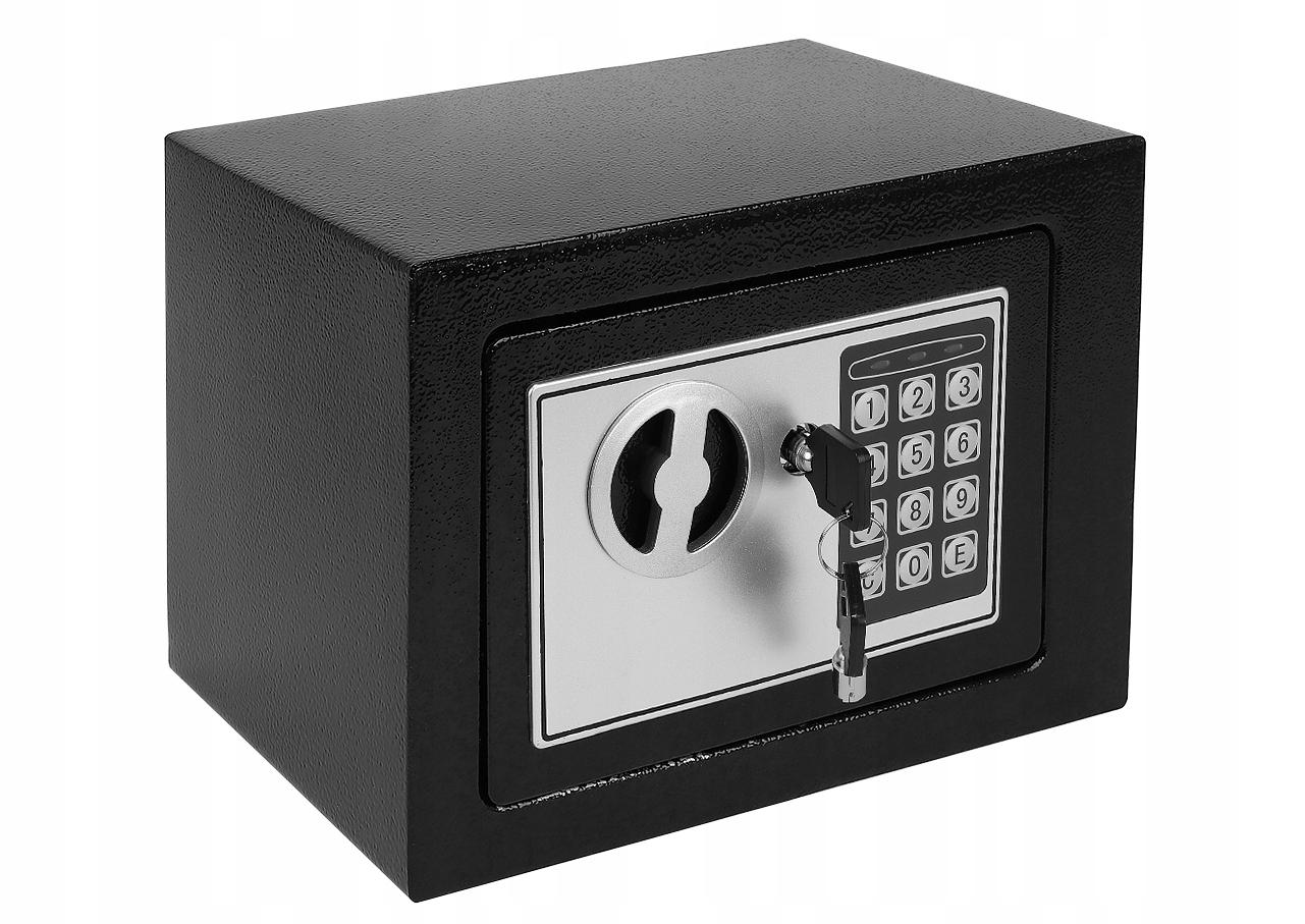 Sejf na Szyfr Zamek Elektroniczny Klucz Kasetka Zamek szyfrowy elektroniczny