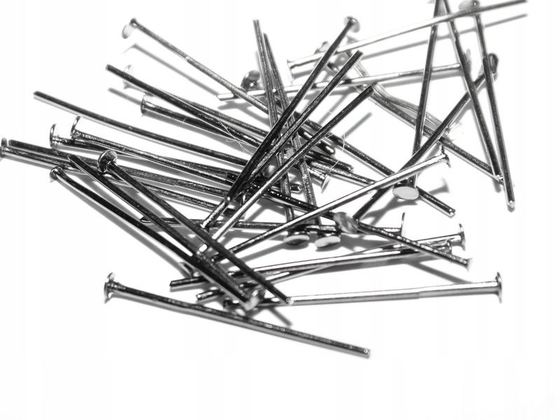Гвозди-шпильки 24мм 150шт графитовые