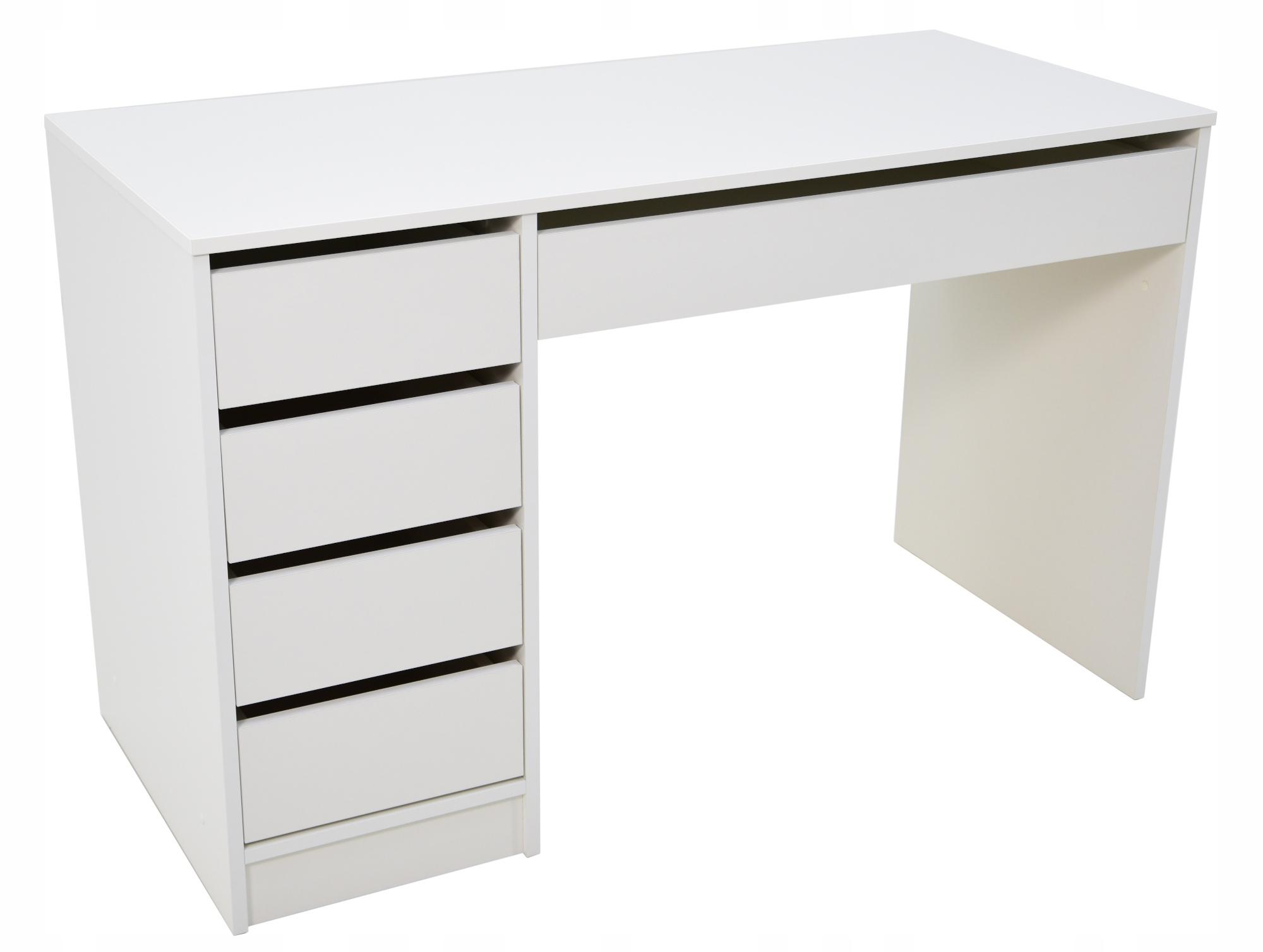 Biely Stôl na workshop FUNKČNÉ so zásuvkami