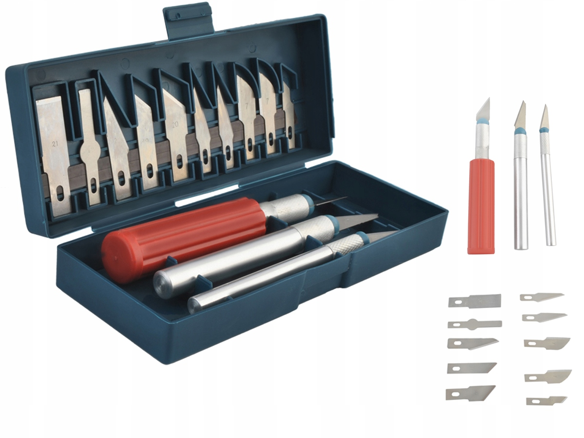 Item Precision Knife Scalpel Knife Set With 13 Blades Case