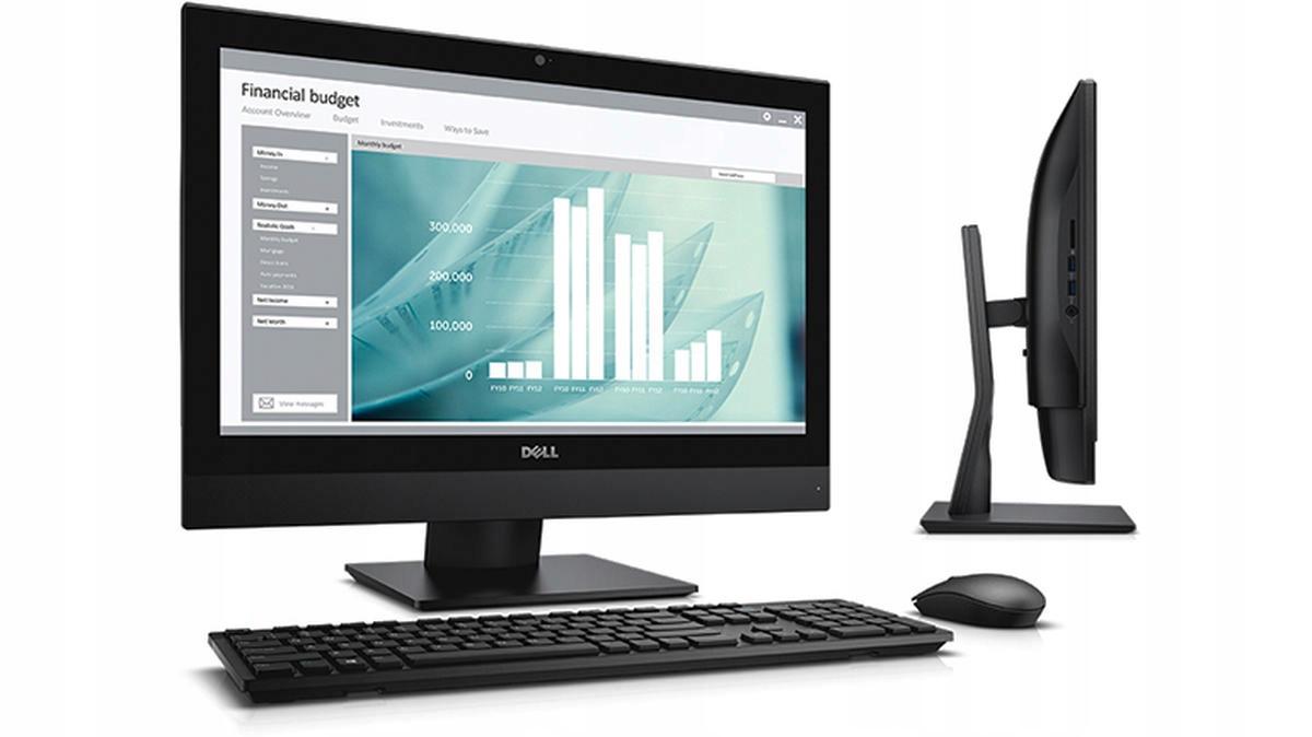 DELL 3240 AIO i3-6100 8GB RAM 128GB SSD W10H REFUB Model OptiPlex 3240