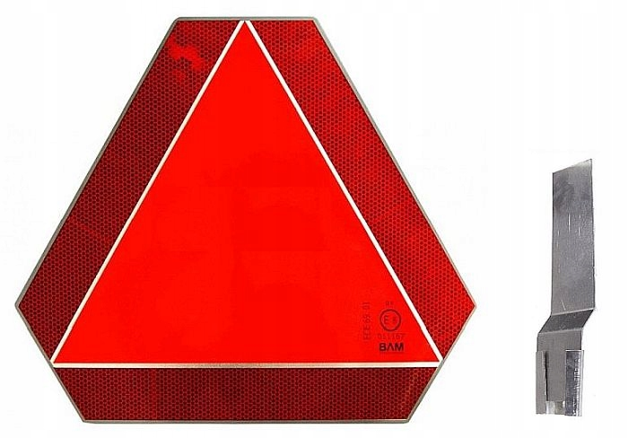 треугольник светоотражающий z креплением автомобиль колесо