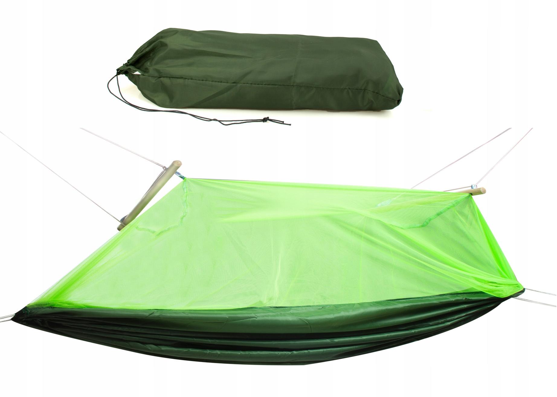 Купить ГАМАК campingowy С МОСКИТНОЙ СЕТКОЙ 210X140CM на Eurozakup - цены и фото - доставка из Польши и стран Европы в Украину.