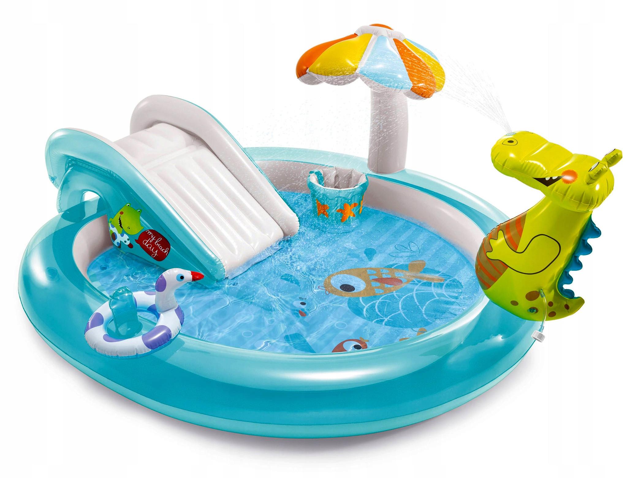 Водная игровая площадка SMOK 201x170x84 INTEX Fountain