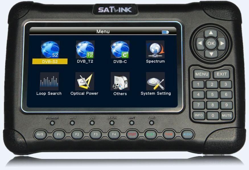 TV SAT DVB-S2 DVB-C DVB-T SATLINK signálu